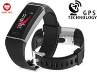 Drphone V9.5 Limited Edition - Activity Tracker - Sporthorloge – Dynamische Hartslagsensor – GPS Chip - Weervoorspelling- 24 verschillende sporten optie - IP67 waterproof - Notificaties - Complete Smartwatch Alternatief Fitbit / Gear Fit 2 / Garmin