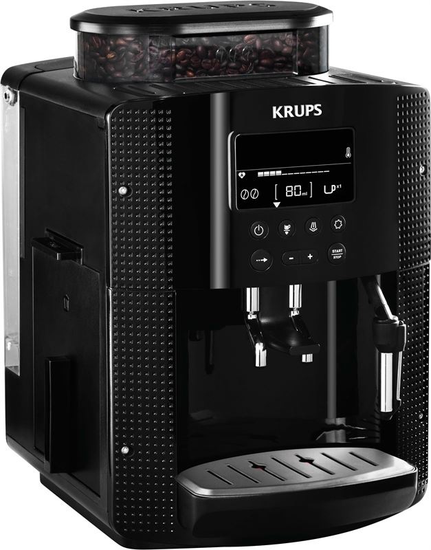Krups Krups Krups Zwart Zwart Ea8150Reviews Volautomatische Volautomatische Ea8150Reviews Espressomachine Espressomachine wkZ8POXn0N