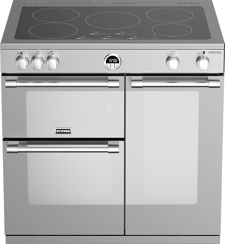 Stoves Sterling S900 Ei roestvrijstaal