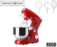 Royalty Line 1400W - Keukenmachine - rood