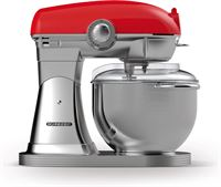 Schneider SCFP57 FR Retro Keukenmachine Fire Red