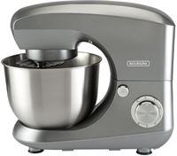 BOURGINI keukenmachine 4,5L - Metallic grijs