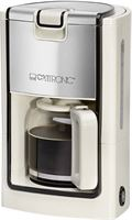 Clatronic koffiezetapparaat KA 3558 crème