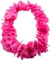 Folat Hawai krans neon roze