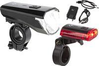 ROHTAR Fietslicht set – Oplaadbaar - USB - lithium accu