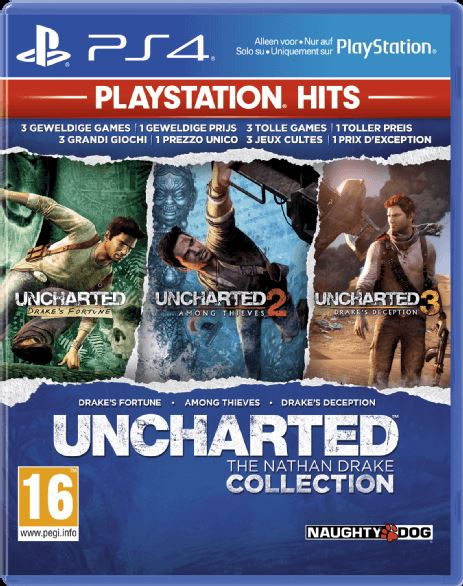 PLAYSTATION GAMES Uncharted The Nathan Drake Collection PS 4