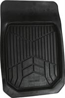 Carpoint Automat Rubber 74 X 50 Cm Zwart
