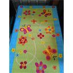 totaldlooring.nl speelkleed butterfly green 80 x 140 cm