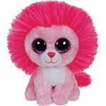 Ty Beanie Boo Fluffy Löwe pink 15 cm limitiert
