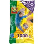 ses Strijkkralen : 1000 stuks geel 00701