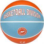 New Port Mini Basketbal Print - Oranje/Aqua/Wit - 3