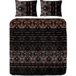Homedream Sheffields Zwart Maat: 1-persoons 140 x 220 cm + 1 kussensloop