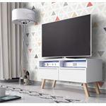vdd TV kast dressoir Siena met LED verlichting wit