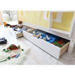Ticaa Kindermöbel Ticaa Lade set voor stapelbedden wit