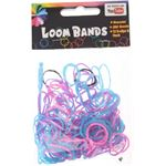 Eddy Toys Loom Bands Armband Maken Paars/blauw/roze 213-delig