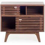 Beliani Sideboard bruin dressoir lowboard kast tv meubel tv kast CLEVELAND
