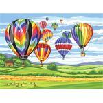 Reeves Schilderen op nummer - hot air balloon