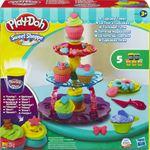 Play-Doh Cupcake Toren - Klei Maak de lekkerste cupcakes