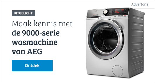 AEG wasmachine 9000 series