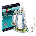 CubicFun 3D Puzzel Burj Al Dubai 17Dlg