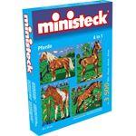 ministeck Paard met achtergrond 4-in-1
