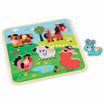 Janod Happiness Farm Puzzle
