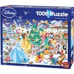 King International Disney Winter Wonderland 1000 stukjes