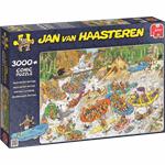 Jumbo Jan van Haasteren Wild Water Raften 3000 stukjes