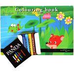 Royal talens kleurboek inclusief pastel krijtjes