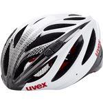 UVEX boss race racefiets helm wit/zwart