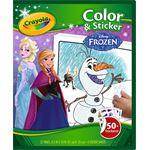 crayola Frozen - kleur-sticker boek