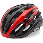 Giro Foray racefiets helm rood/zwart Racefiets Helm 2016