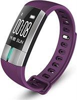 Smartwatch-Trends S20 Activity Tracker - met Hartslagmeter - Fitness Armband - Stappenteller - Calorieteller - -Slaapmonitor - - Kleurenscherm - Paars