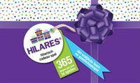 HILARES Hilarisch Cadeau Spel NEDERLANDS sinterklaas - kerst - oud en nieuw - feestje - pakjes - surprise - dobbelspel - kaartspel - familiespel