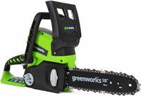 Greenworks Kettingzaag G24CS25 zonder 24 V accu
