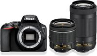 Nikon D3500 + AF-P DX 18-55mm f/3.5-5.G VR + AF-P DX 70-300mm f/4.5-6.3G Ed VR