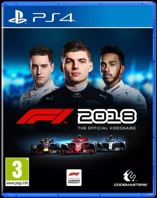 Codemasters F1 2018 Standard Edition - PS4