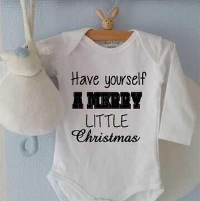 Maison Marcella Rompertje Baby Unisex Have Yourself A Merry Little
