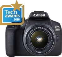 Canon EOS 2000D + EF-S 18-55mm f/3.5-5.6 IS II + EF 75-300mm f/4-5.6 III