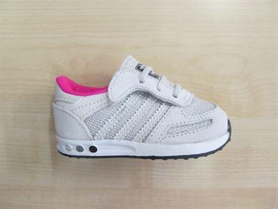 6ed1a3b005c Adidas LA Trainer cf infant grijs roze cg3123 maat 19 kopen ...
