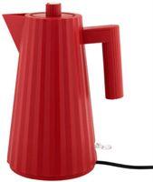 Alessi Plissé waterkoker 1 7 liter kunststof rood