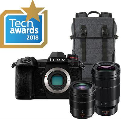 eeeefde6dab Panasonic DC-G9 Body + 12-60mm Leica + 50-200mm Leica + Rugtas + EUR ...