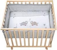 Roba Box 75x100 cm Jumbotwins natuur - Natuurlijk - Gr.100x75 cm