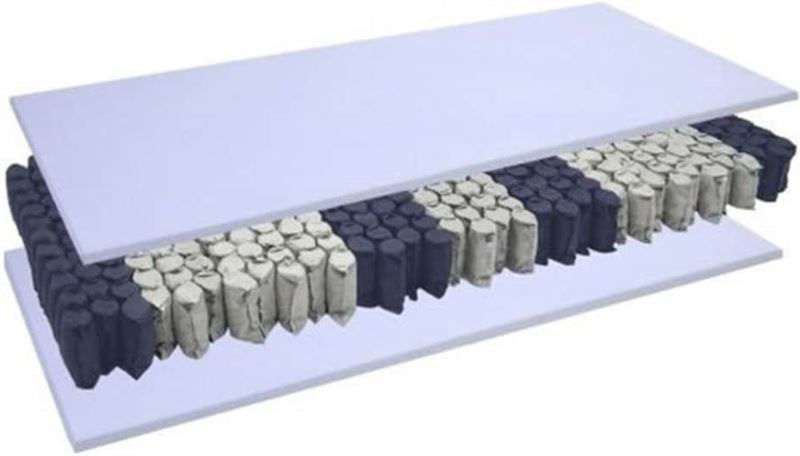 Bedworld Collection 80x200 Pocket Koudschuim matras Zacht