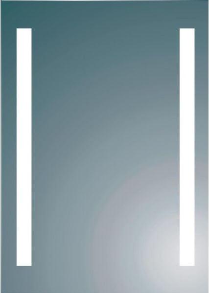 royal plaza freya spiegel 100x80 cm met verticale verlichting 13235