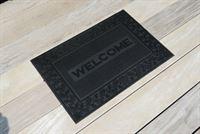 Onlinemattenshop Set van 2 assorti rubberen deurmatten Mix mat 40x60cm
