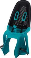 Qibbel Air Fietsstoeltje Achter - Bagagedrager bevestiging - Turquoise