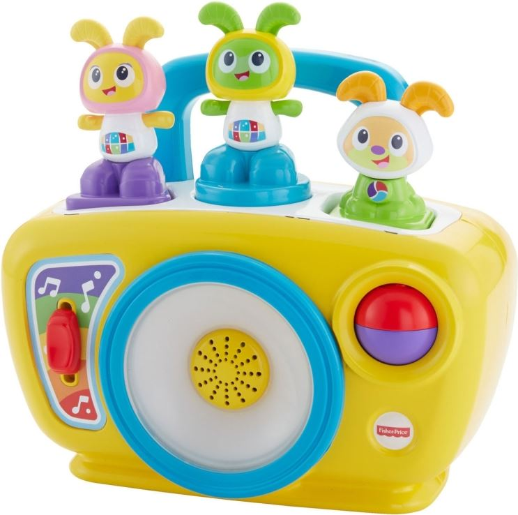 Fisher-Price Bright Beats BeatBo Boogie Boombox