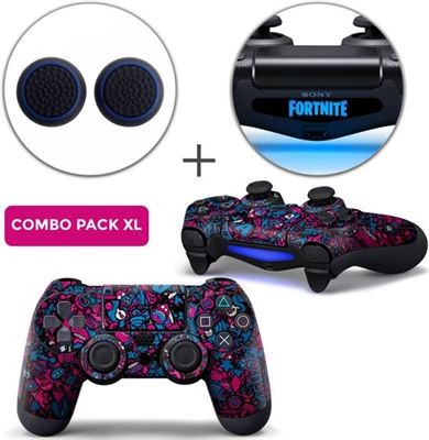 Consoleskins nl Stickerbomb Premium Combo Pack XL - PS4