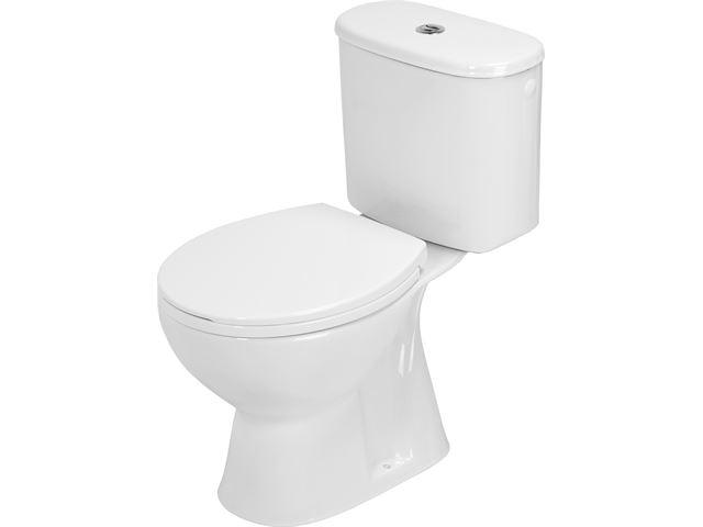 Duoblok Toilet Gamma : Atlantic axel toilet duoblok met reservoir pk muuraansluiting